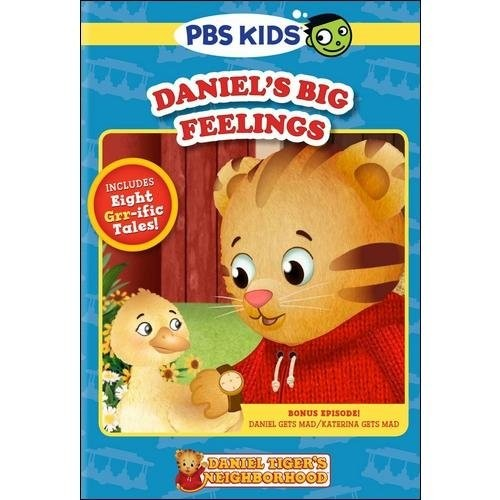 Daniel Tiger's Neighborhood: Daniel's Big Feelings (DVD)