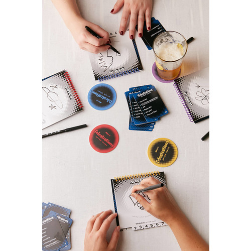 Telestrations After Dark Board Game [REGULAR]