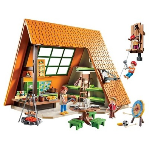 Playmobil Camping Lodge Playset