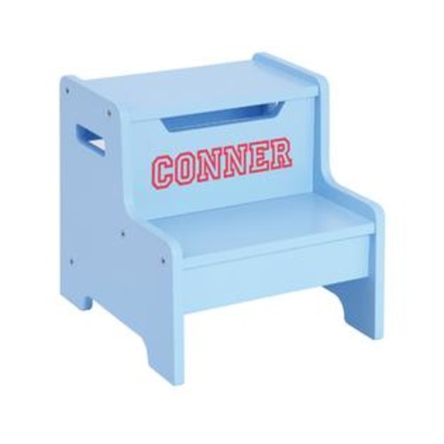 Guidecraft Expressions Step Stool Blue