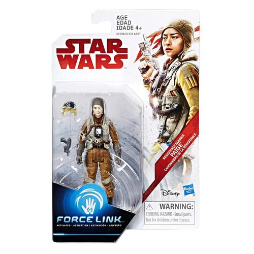 Star Wars Force Link Action Figure - Resistance Gunner Paige