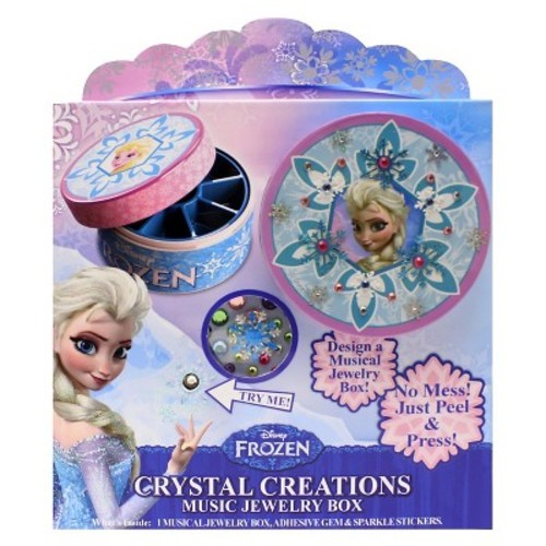 Disney's Frozen Crystal Creations Musical Jewelry Box