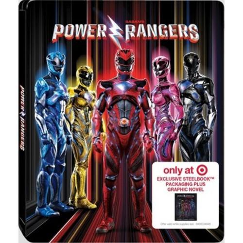 Saban's Power Rangers: Target Exclusive Steelbook Plus Graphic Novel (Blu-ray + DVD + Digital)