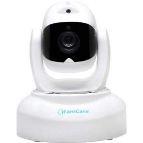 iBaby iFamCare Helmet 1080p Full HD Wi-Fi Home Video Monitor - White