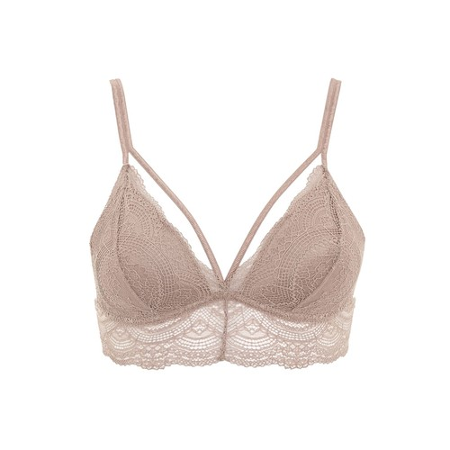 Lace Padded Triangle Bra