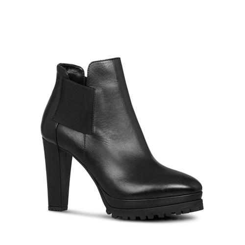 ALLSAINTS Women'S Sarris Leather High Heel Booties
