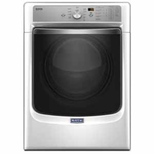 Maytag 7.4 cu ft Large Capacity Dryer with Refresh Cycle with Steam and Powerdry System - White