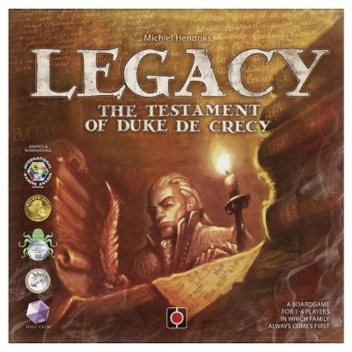 Portal Games Legacy The Testament of Duke de Crecy Game