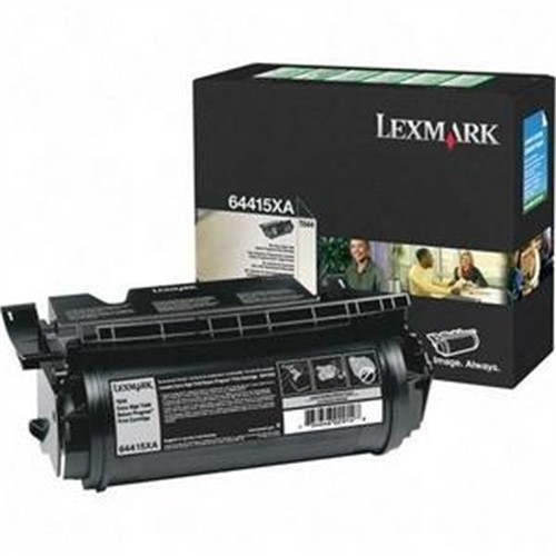 Lexmark 64415XA Return Program Extra-High-Yield Black Toner Cartridge