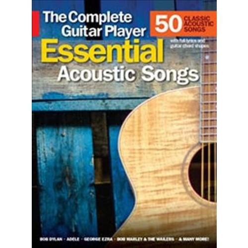 Essential Acoustic Songs : The Complete Guitar Player (Paperback)