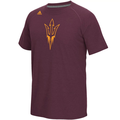 Men's adidas Arizona State Sun Devils White Noise Bar Tee