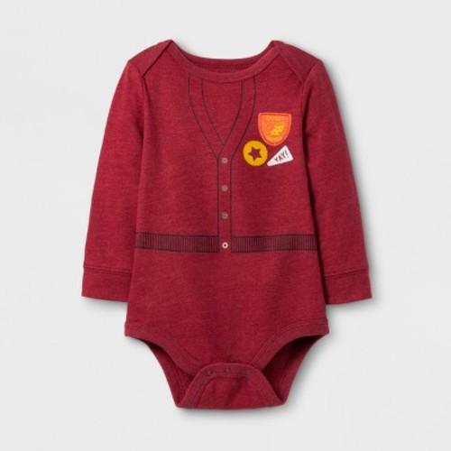 Baby Boys' Long Sleeve Expert Napper Bodysuit Cat & Jack - Red