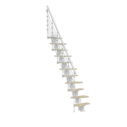 Arke Oak30.Xtra White 2nd Side Railing Kit
