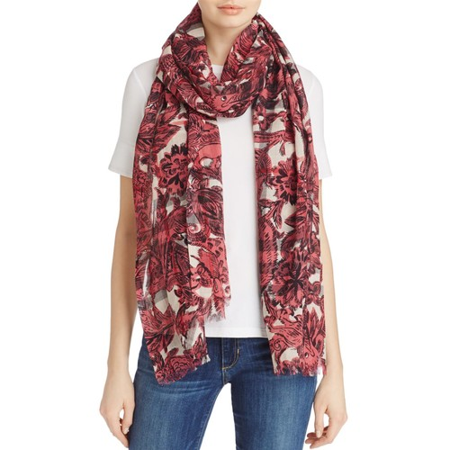 BURBERRY Beasts Gauze Giant Check Scarf