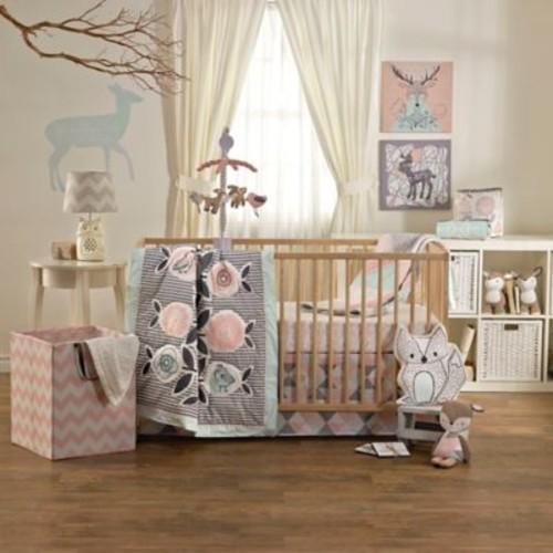 Lolli Living by Living Textiles Mix & Match Sparrow 4-Piece Crib Bedding Set