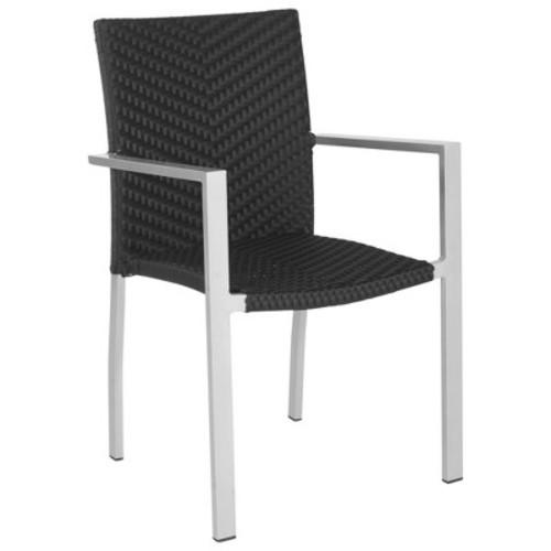 Safavieh Maxine 2-Piece Wicker Patio Side Chair Set