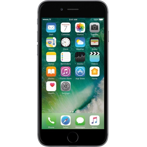 Boost Mobile - Apple iPhone 6 4G with 32GB Memory Prepaid Cell Phone - Space Gray