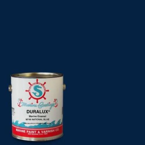 Duralux Marine Paint 1 gal. National Blue Marine Enamel