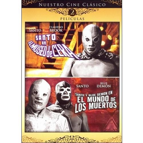 Santo en el Museo de Cera/Santo y Blue Demon en el Mundo de Los Muertos [DVD]