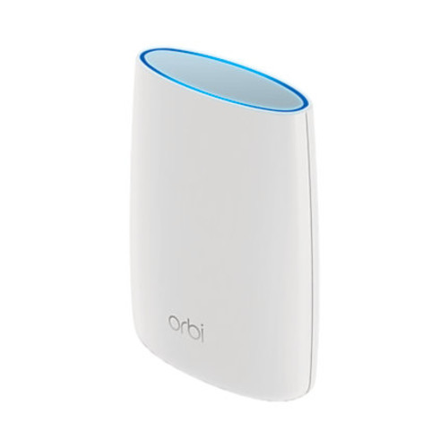 NetGear Orbi RBK50 Wireless Router - 3-port Switch, Gigabit Ethernet, IEEE 802.11a/b/g/n/ac, Tri-Band, With Orbi Satellite - RBK50-100NAS