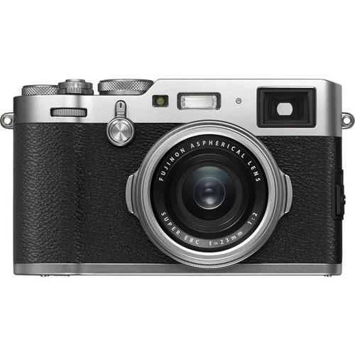 Fujifilm X100F (Silver) 24-megapixel APS-C sensor digital camera with Wi-Fi