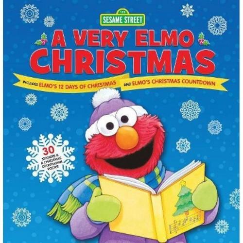 Very Elmo Christmas : Includes Elmo's 12 Days of Christmas and Elmo's Christmas Countdown (Hardcover) (Sesame Workshop)