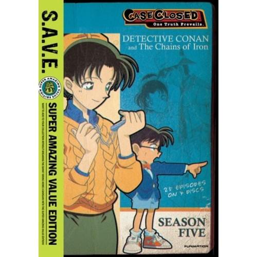 Case Closed: Season Five [S.A.V.E.] [4 Discs] [DVD]