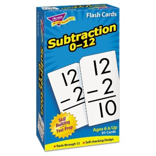 TREND Skill Drill Flash Cards, 3 x 6, Subtraction