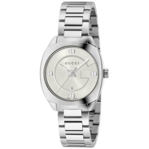 GUCCI Women'S Gg2570 Swiss Stainless Steel Bracelet Watch 29Mm Ya142502