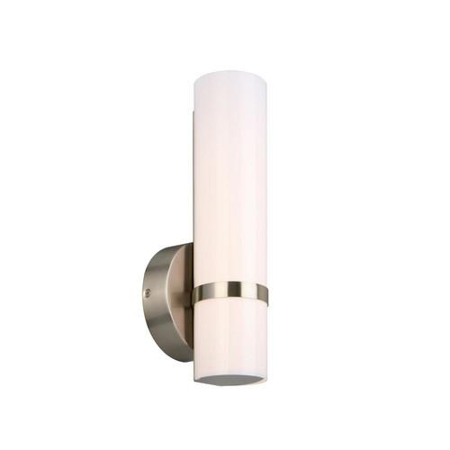 Design House Fleming 9-Watt Satin Nickel Integrated LED Bath Light