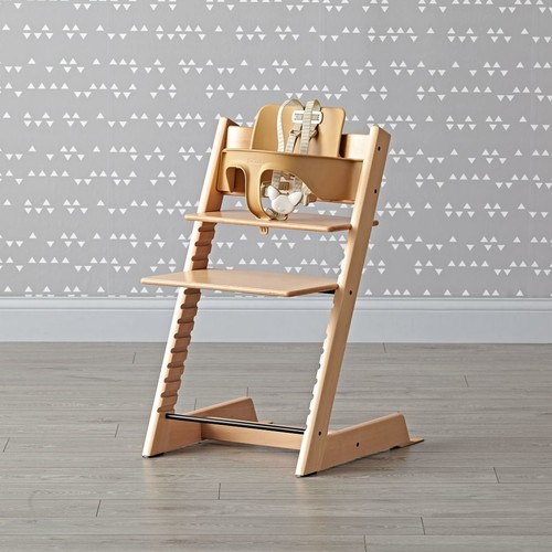 Natural Tripp Trapp High Chair and Baby Set from Stokke