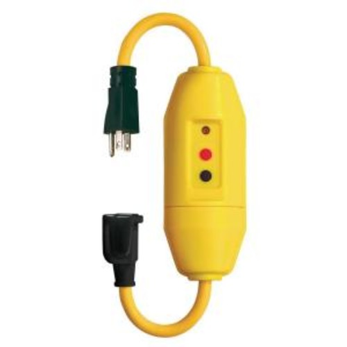 Tower Manufacturing Corporation 18 in. In-Line GFCI Cord