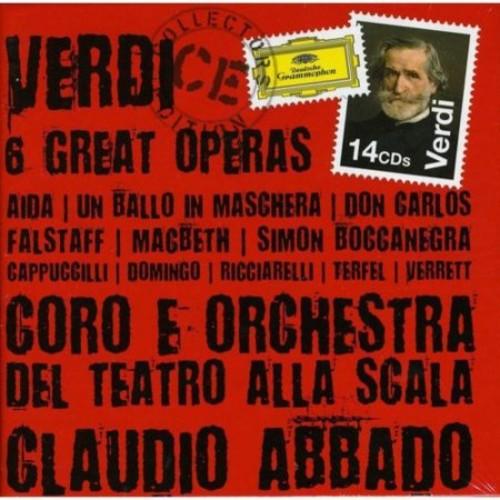 Verdi 6 Great Operas Aida; Un Ballo in Maschera; Don Carlos; Falstaff; Macbeth; Simon Boccanegra