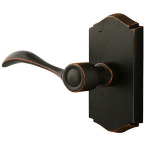 Sure-Loc Rustic Bronze Privacy Door Lever