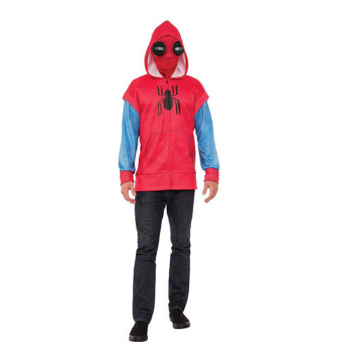 Spider-Man Homecoming - Adult Hoodie Costume