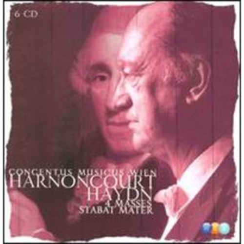 Haydn: 4 Masses; Stabat Mater By Concentus Musicus Wien (Audio CD)