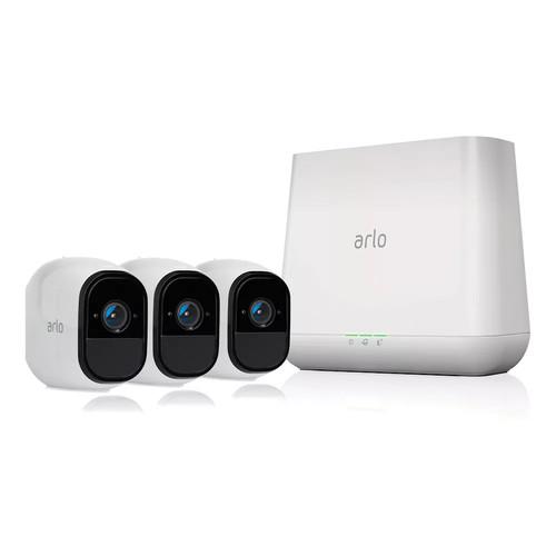 NETGEAR Arlo Pro Wire-Free HD 3-Camera Security System