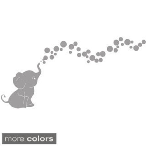 Decorative Elephant Nursery Wall Plate Cover [option : Single Toggle]