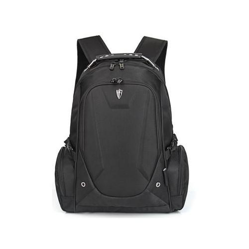 Victoriatourist V6012 Laptop Backpack College Bookbag Business Travel Bag Hiking Nylon Rucksack for Men Women Fits Macbook Pro / Most 15.6 Inch Laptops, Black