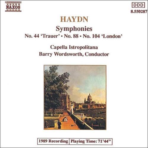 Haydn: Symphonies Nos. 44, 88, 104