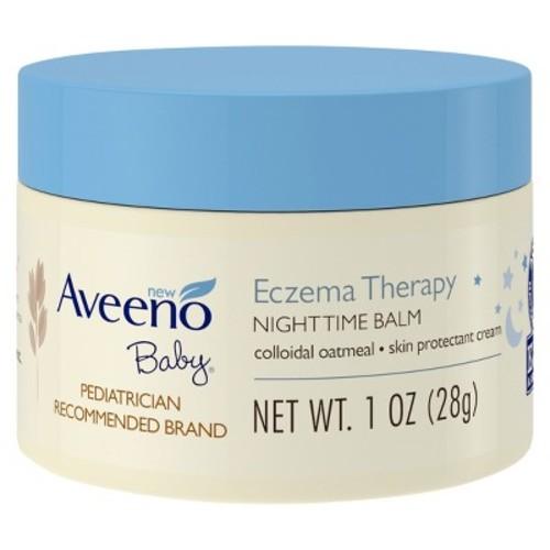 AVEENO Baby Eczema Therapy Night Balm - 1oz