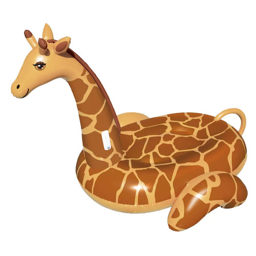 Blue Wave Giant Giraffe 96-in Inflatable Ride-On Pool Float