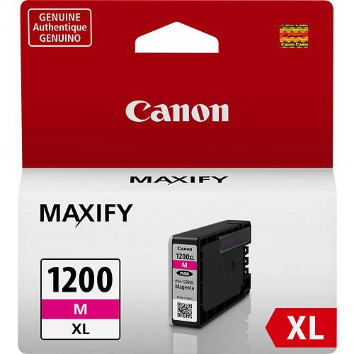 Canon - PGI-1200 XL High-Yield Ink Cartridge - Magenta