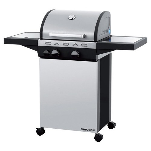 Cadac - Stratos 2 Gas Grill - Stainless-Steel