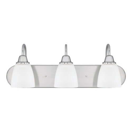 Capital Lighting Trenton Collection 3-light Brushed Nickel Bath/Vanity Light