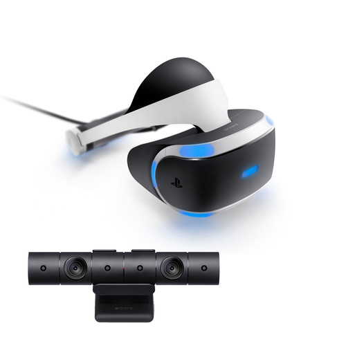 Sony PlayStation VR Headset and Camera