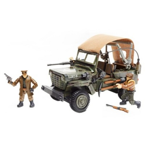 Mega Construx Call of Duty Building Set - WW2 Infantry Scout Car