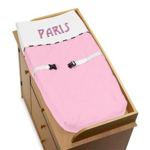 Sweet Jojo Designs Paris Changing Pad Cover