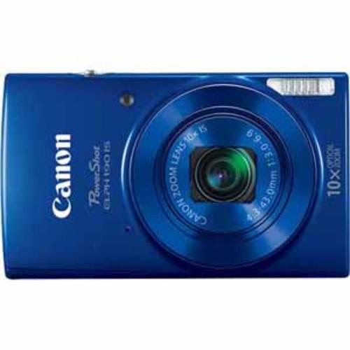 Canon 20 Megapixels PowerShot ELPH 190 Camera - Blue