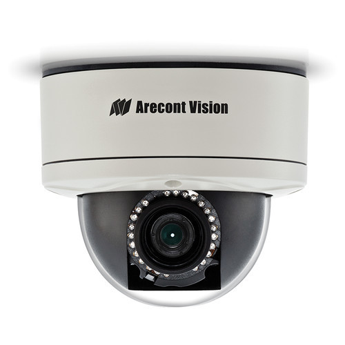 MegaDome 2 5MP Outdoor Vandal-Resistant Network Dome Camera with Night Vision and Heater